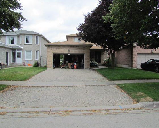 Oshawa Paving Residential Driveway 1