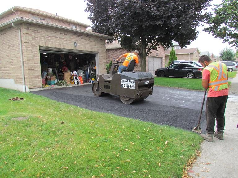 Driveway Work Done By Oshawa Paving