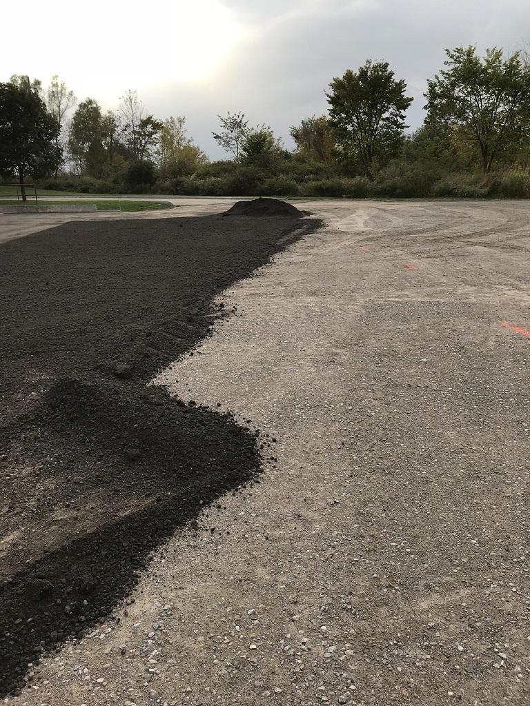 Parking Lot Work Done By Oshawa Paving